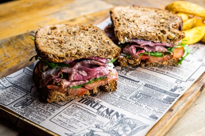 Sandwich de Roast Beef 1