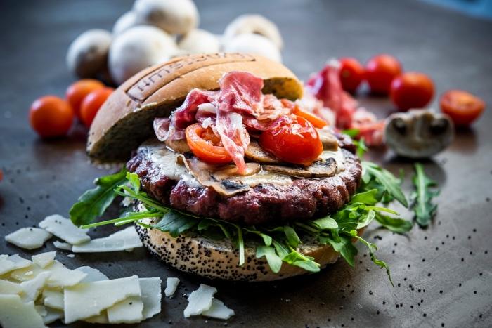 Burger La Mediterránea de Timesburg