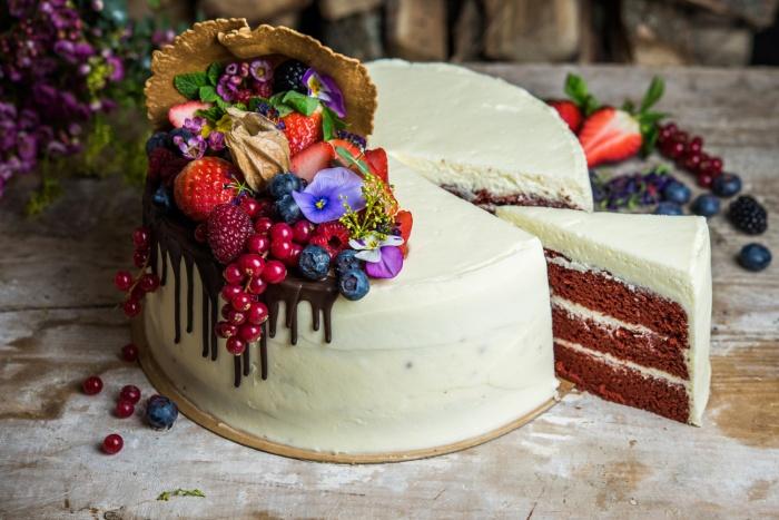 Tarta Red Velvet por San Valentín de Levadura Madre Natural Bakery 1