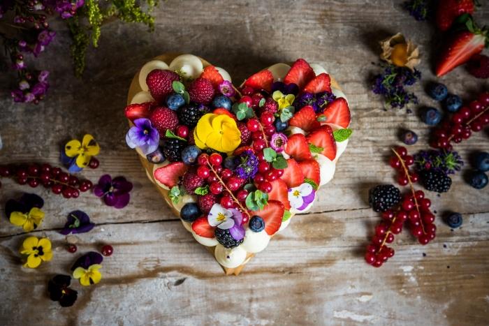 Tarta sablé de San Valentín de Levadura Madre Natural Bakery 1